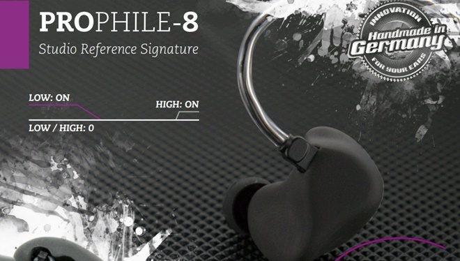 StageDiver giới thiệu ProPhile-8 - tai nghe với 4 chất âm