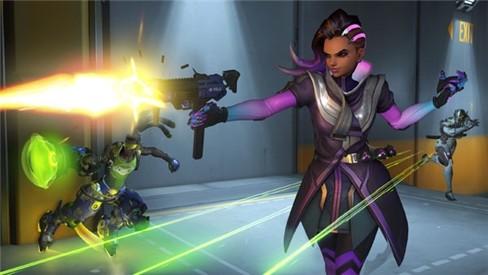 Nhân vật Sombra khiến trò chơi Overwatch thêm nóng