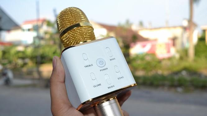 Trên tay Micro Bluetooth tích hợp loa phát Tuxun Q7