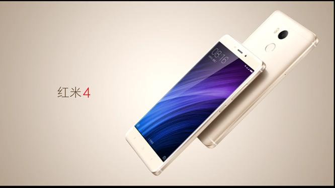 Xiaomi Redmi 4/4A mới: vân tay, pin 4.100mAh, giá rẻ