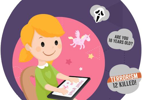 Cần kiểm soát hoạt động trực tuyến của con trẻ