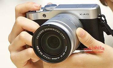 Fujifilm X-A10 chưa ra mắt đã lộ diện