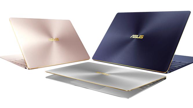 Thêm laptop Asus chạy bộ xử lý Kaby Lake