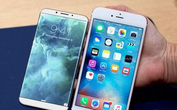 iPhone 8 trang bị màn hình viền siêu mỏng