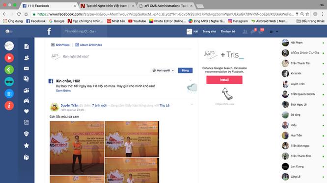 Facebook báo sai số liệu người truy cập trang