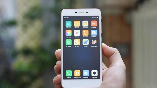 Xiaomi Redmi 4A đầu tiên lên kệ Việt giá 2,25 triệu