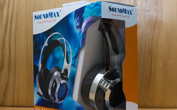 Cận cảnh tai nghe chơi game Soundmax AH-319