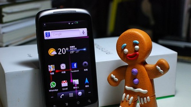 Google Play Store 'chia tay' Android Gingerbread