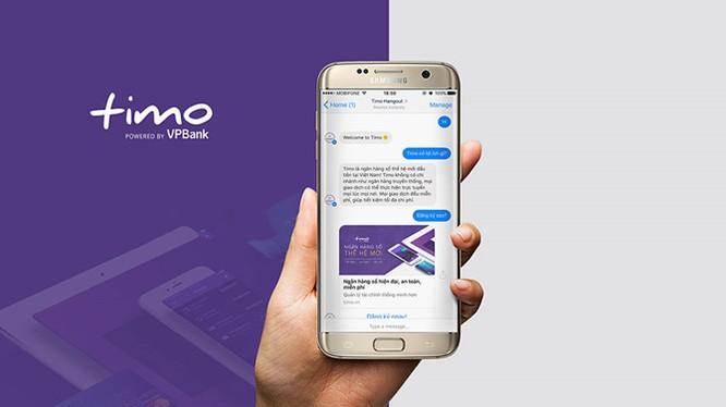 Ngân hàng số Timo giới thiệu Chat Bot tư vấn tự động