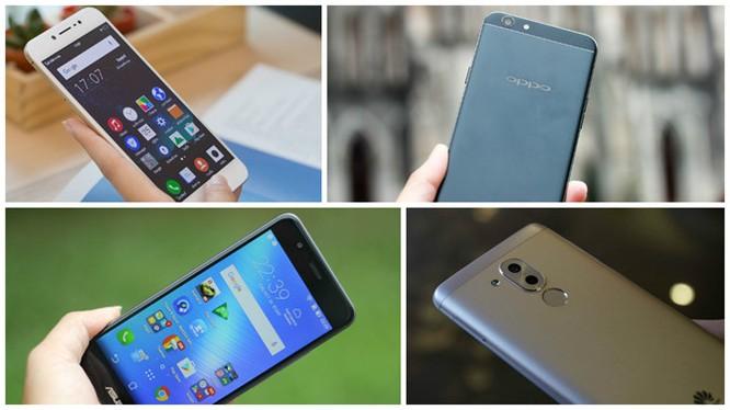 Top 5 smartphone mới nổi bật ở tầm giá 6 triệu