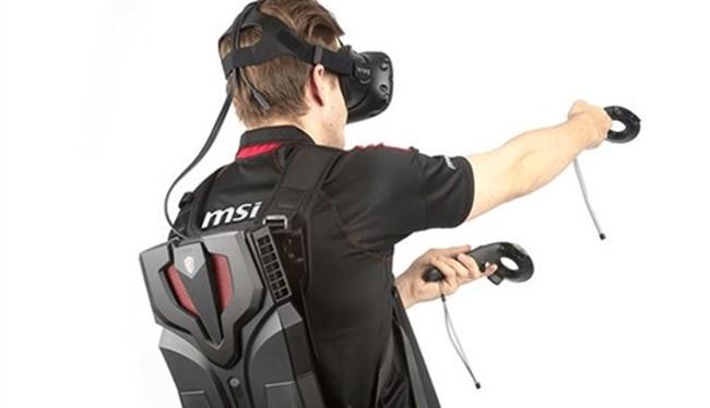 Ba-lô thực tế ảo MSI VR One lên kệ Việt giá 55 triệu