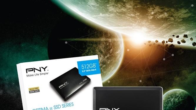 PNY giới thiệu ổ SSD mới giá từ 1,2 triệu đồng