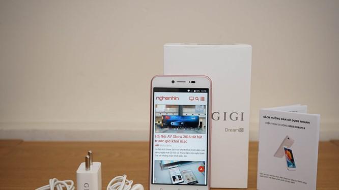 Trên tay smartphone lạ Gigi Dream 8 sắp lên kệ Việt giá 2 triệu