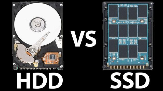 Đĩa cứng: SSD 'song đấu' HDD