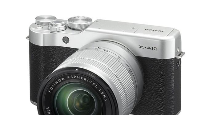 Fujiflm ra mắt máy ảnh X-A10 giá rẻ cho tín đồ selfie