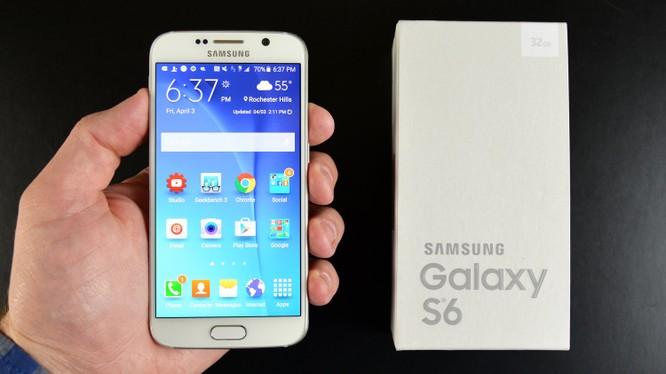 Samsung Galaxy S6 phát hỏa trên máy bay