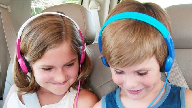 Mở hộp tai nghe cho trẻ em Mee Kid Jamz