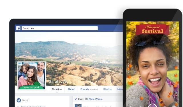 Facebook có thêm tính năng Camera Effects