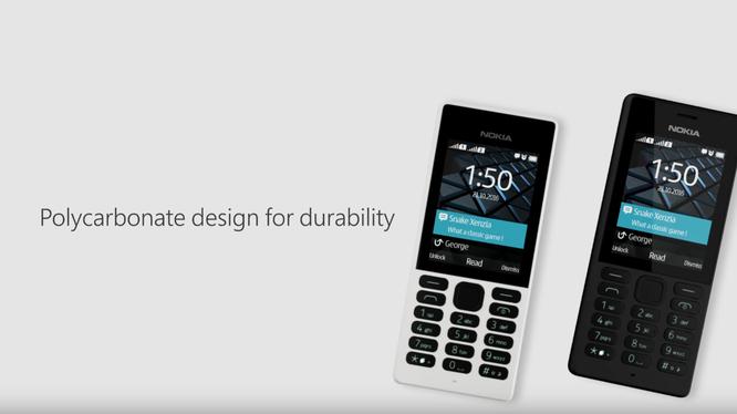 Điện thoại Nokia 150 chính thức ra mắt