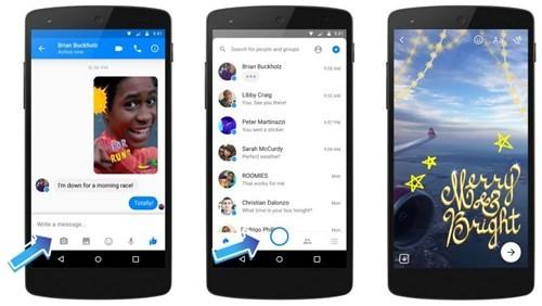 Facebook Messenger nâng cấp tính năng camera