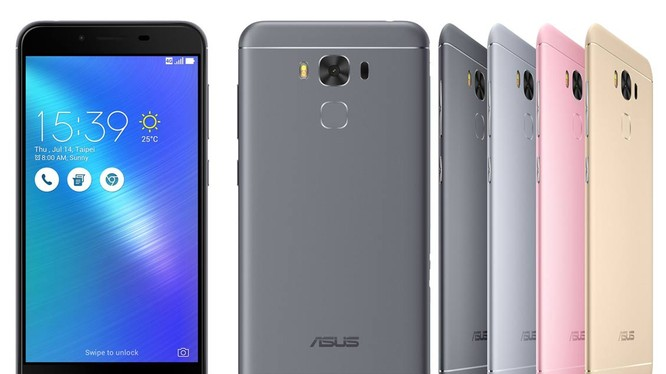 Cận cảnh smartphone pin khủng Asus ZenFone 3 Max 5.5