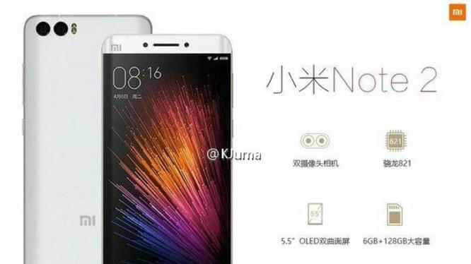 Đánh giá Xiaomi Mi Note 2 - đối thủ khó chịu của mọi flagship