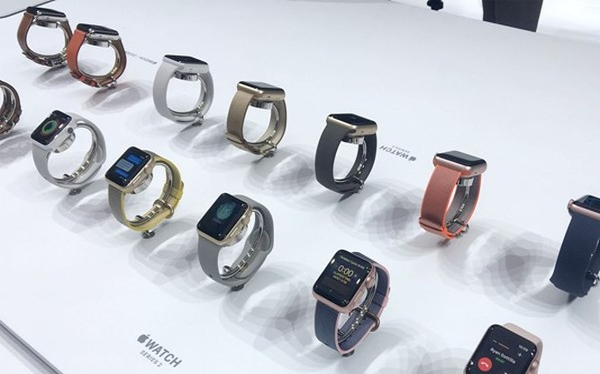 Apple Watch 3 ra mắt trong quý 3/2017