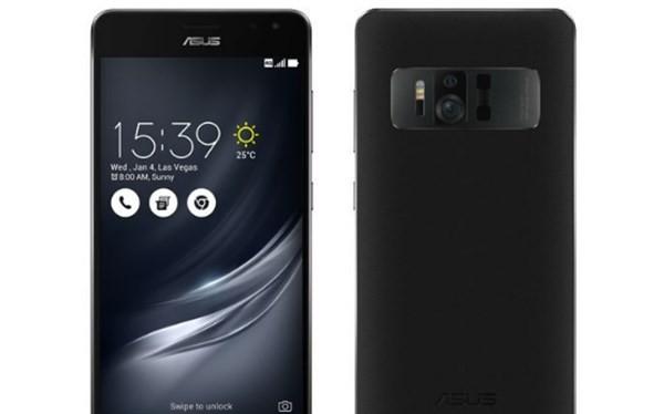 Hình ảnh được cho là của chiếc smartphone Asus ZenFone AR sắp ra mắt.