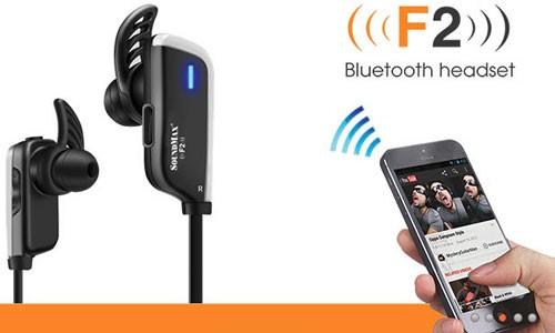 Cận cảnh tai nghe Bluetooth Soundmax F2