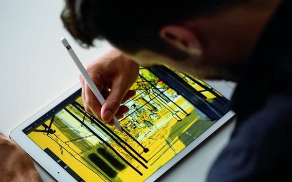 Bút cảm ứng Apple Pencil khi kết hợp với iPad.