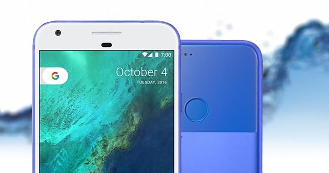 Google Pixel phiên bản 2017 được cho là sẽ có khả năng chống thấm nước.