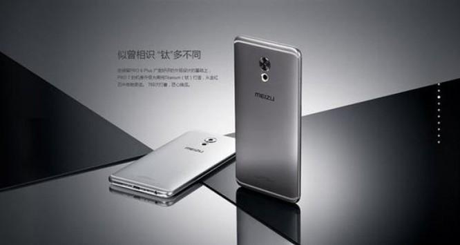 Meizu Pro 7: smartphone 4K, RAM 8GB, giá 552USD
