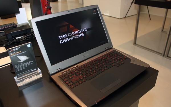 Cận cảnh laptop chơi game Asus ROG G701VI giá 85 triệu đồng