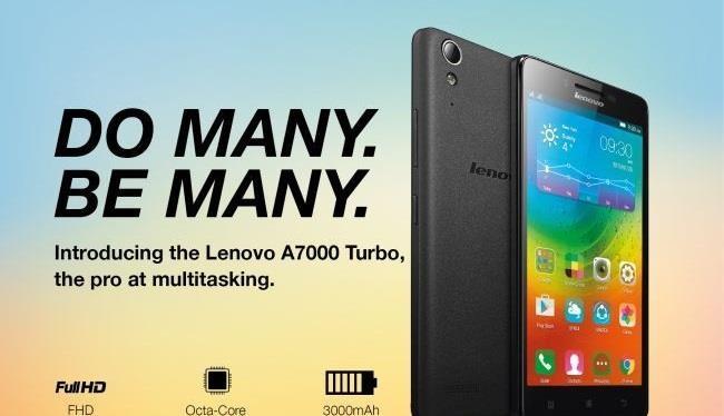 Lenovo A7000 Turbo sắp có phiên bản tiếp nối