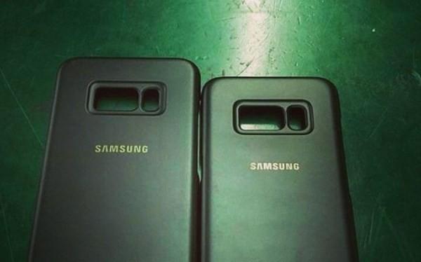 Nhận diện Samsung Galaxy S8 qua ốp lưng rò rỉ