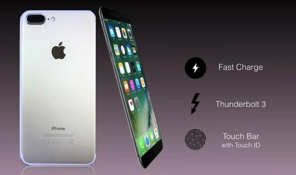 iPhone 8 sẽ hỗ trợ công nghệ sạc nhanh và hàng loạt tính năng cao cấp khác như quét mống mắt, cảm biến vân tay.