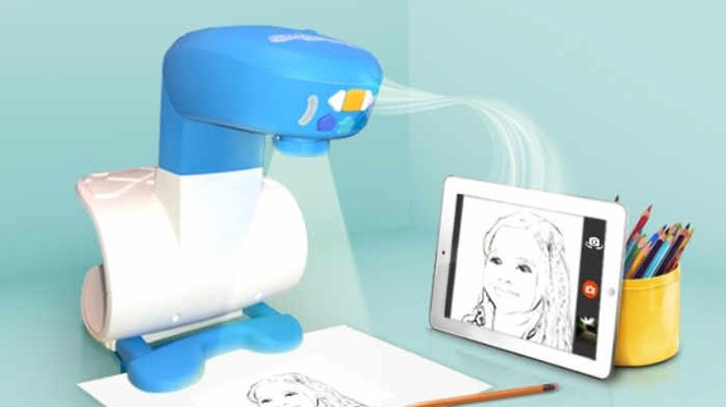 FollowGrams - máy chiếu dạy vẽ cho trẻ giá 65USD