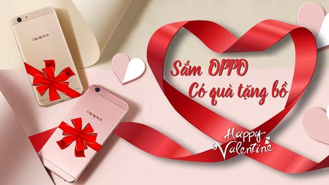 Shop điện thoại đua khuyến mại dịp Valentine