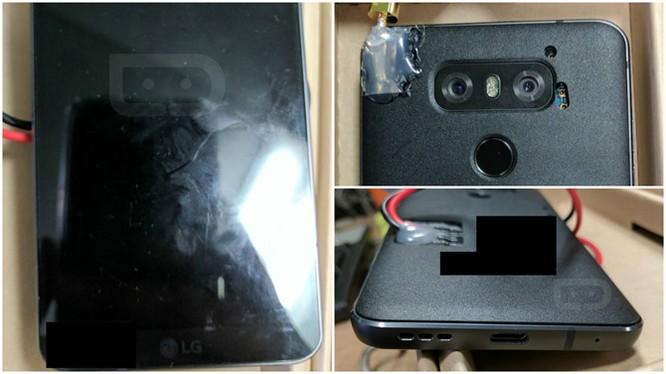 LG G6 lần đầu lộ ảnh thực tế