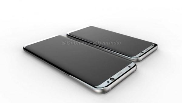 Hình ảnh chiếc Samsung Galaxy S8 Plus mà @EvLeaks từng chia sẻ gần đây.