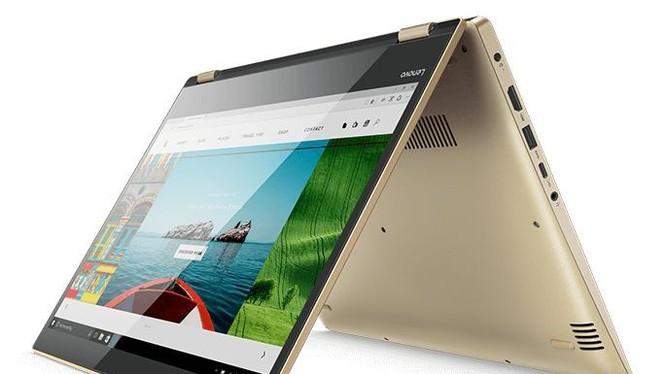 Hình ảnh mẫu laptop Lenovo YOGA 520, phiên bản tiếp nối mẫu YOGA 510.