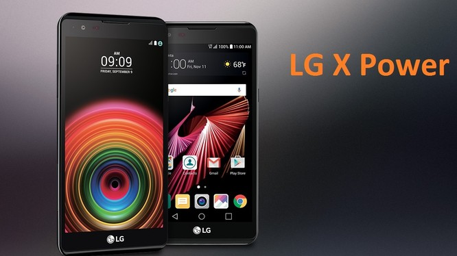 LG giới thiệu smartphone pin trâu X power 2