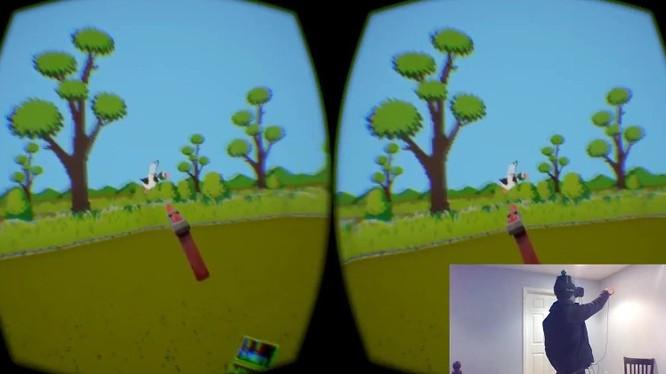 Huyền thoại bắn vịt vui nhộn chính thức xuất hiện trên game thực tế ảo