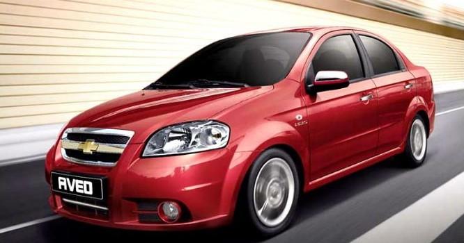Chevrolet Aveo với giá bán từ 435 triệu đồng