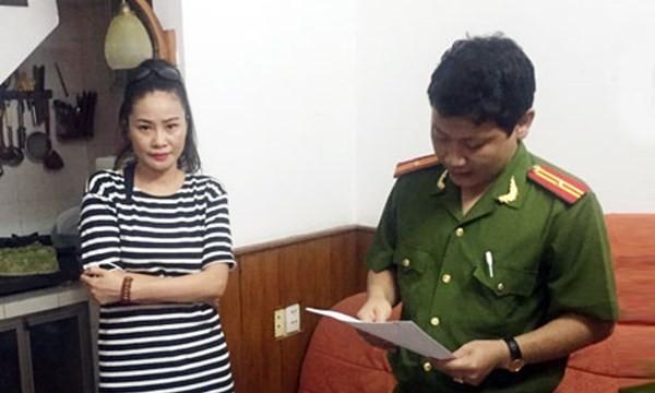 Trần Thị Hương Giang thời điểm bị bắt