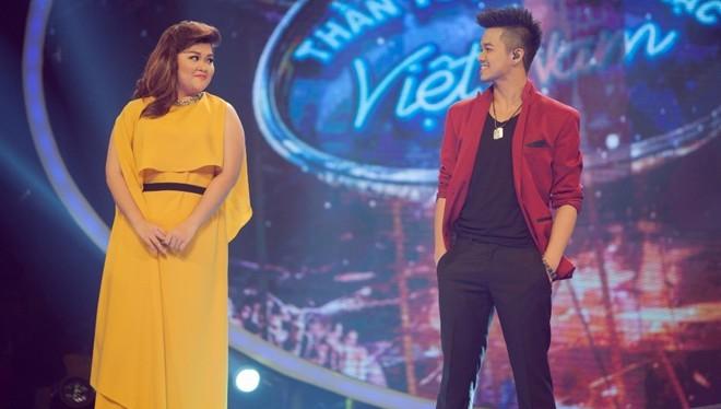 Quán quân Trọng Hiếu và á quân Bích Ngọc của Vietnam Idol mùa thứ 6