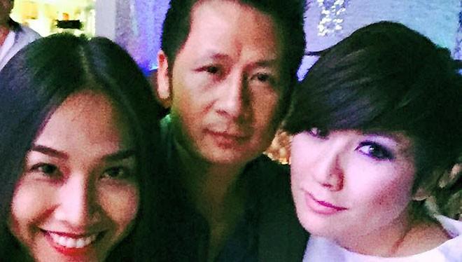 Bằng Kiều đã làm cho cả fan lẫn anti-fan sốc khi anh đăng lên trang cá nhân hình ảnh chụp chung với cả Trizzie Phương Trinh và Dương Mỹ Linh.