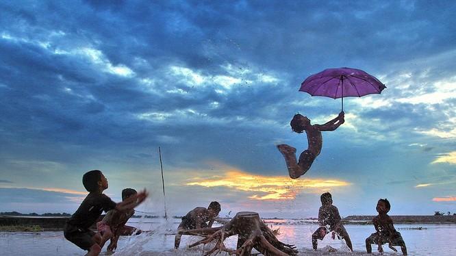 Bức ảnh đạt giải của nhiếp ảnh gia người Ấn Độ Sujan Sarkar