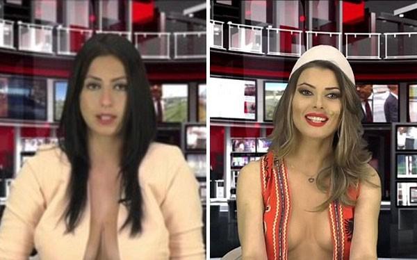 2 nữ MC ngực khủng bị đối xử hoàn toàn trái ngược nhau