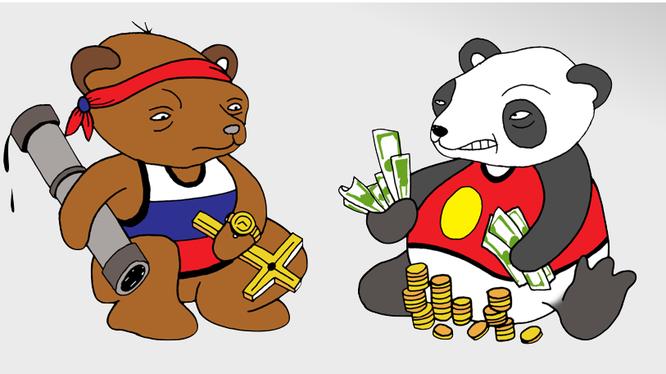Nước Nga đang phải trả giá khi coi Trung Quốc là bạn?